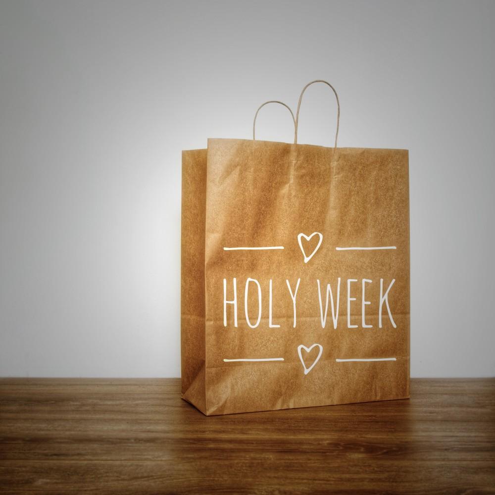 Holy week Tüte